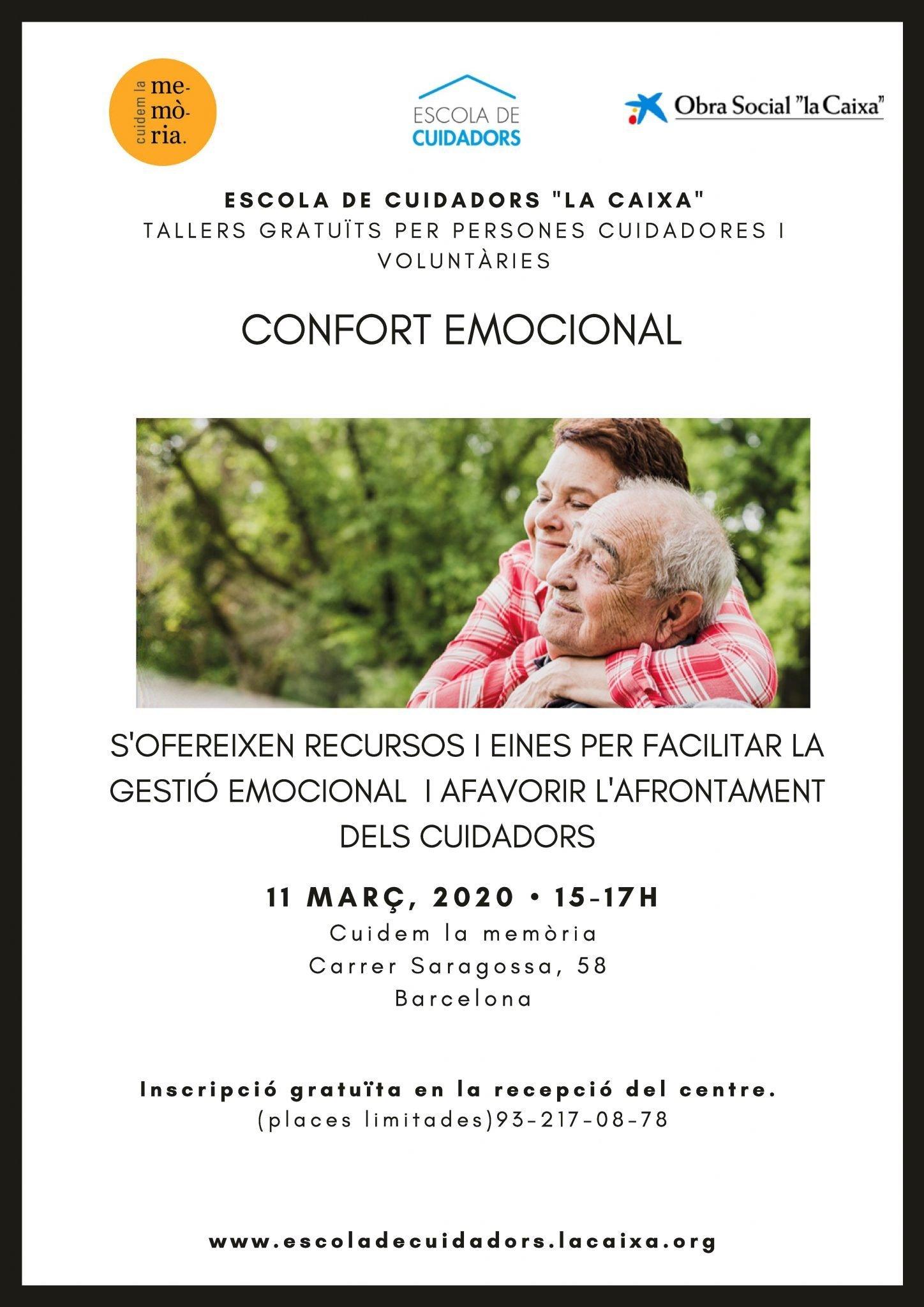 """Formació per a cuidadors amb la col·laboració de Fundació """"La Caixa"""""""