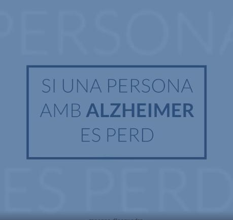 Si una persona amb Alzheimer es perd, recomanacions