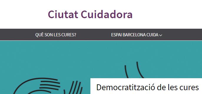 Presentació de Barcelona Cuida