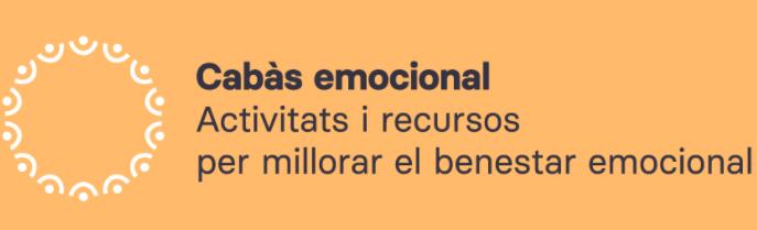 Cabàs emocional, centre d'activitats i recursos en línia per millorar el benestar emocional.